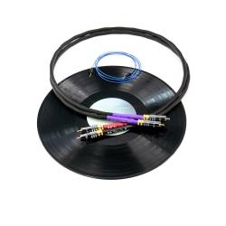 Interkonekt phono Tellurium Q Black 1m