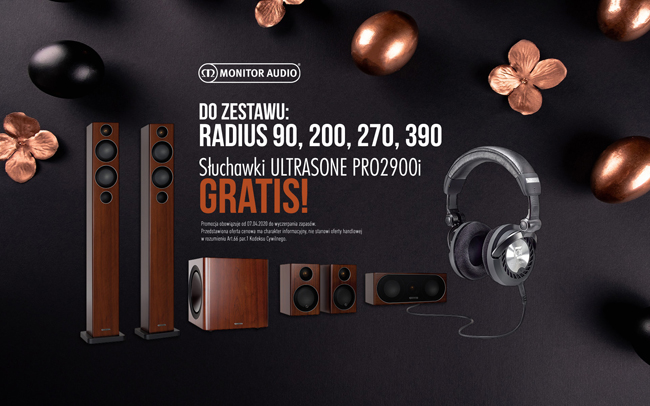 Monitor Audio Radius Promo