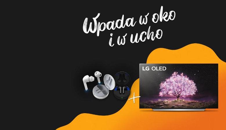Promocja LG OLED + Słuchawki LG Tone Free